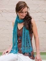 Scarves to Crochet Pattern Book AA 871105 DISCONTINUED